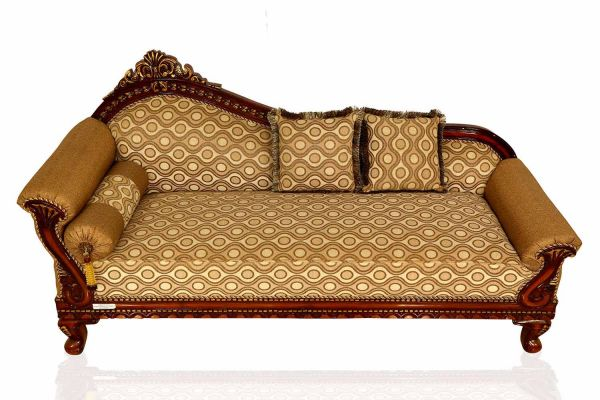 Buy Pearl Diwan Sofa In Yellow Colour At Best Price In Online