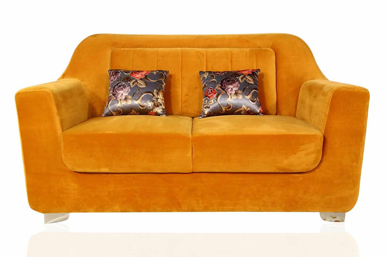 Buy Milan Sofa In Yellow Colour At Best Price In Anu Furnitures Online